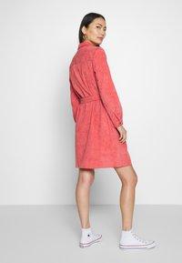 Fransa - DRESS - Skjortekjole - baked apple - 2