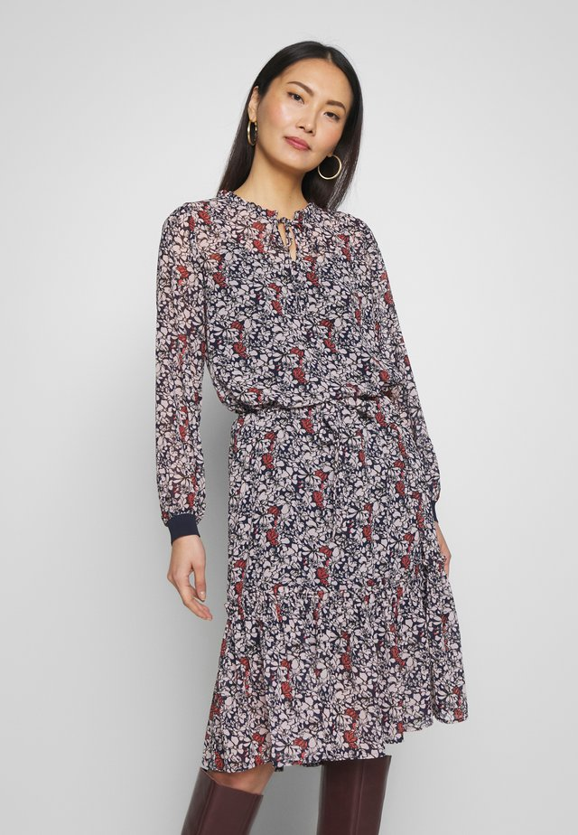 FRHACHIF DRESS - Kjole - dark peacoat mix