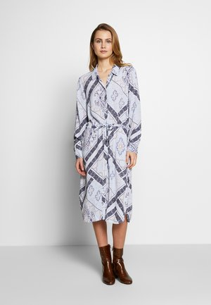 FRHASCARF DRESS - Blousejurk - brunnera blue mix