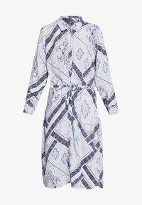 Fransa - FRHASCARF DRESS - Skjortekjole - brunnera blue mix - 4