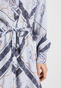 Fransa - FRHASCARF DRESS - Skjortekjole - brunnera blue mix - 5