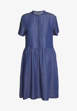 DRESS - Hverdagskjoler - glossy blue denim