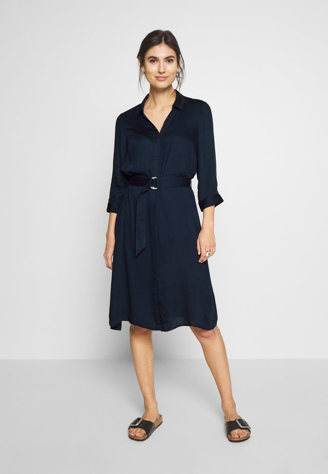 PARTY DRESS - Shirt dress - navy blazer