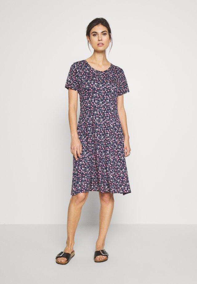 FRITDOTSA DRESS - Robe d'été - navy mix
