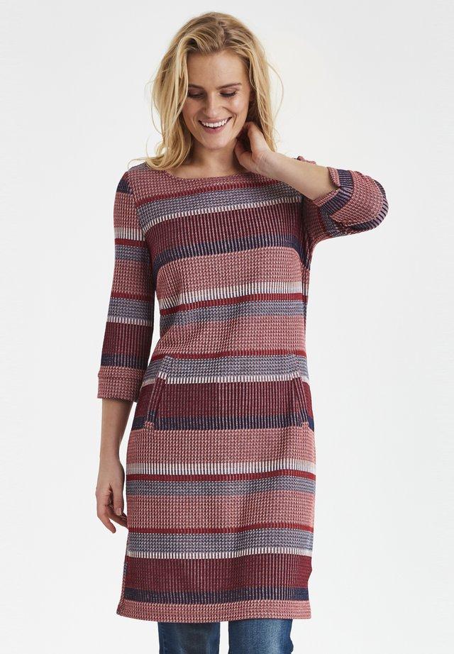 FRHIMIS  - Gebreide jurk - brown