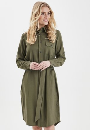 FRIPJUMP 2 DRESS - Skjortekjole - hedge