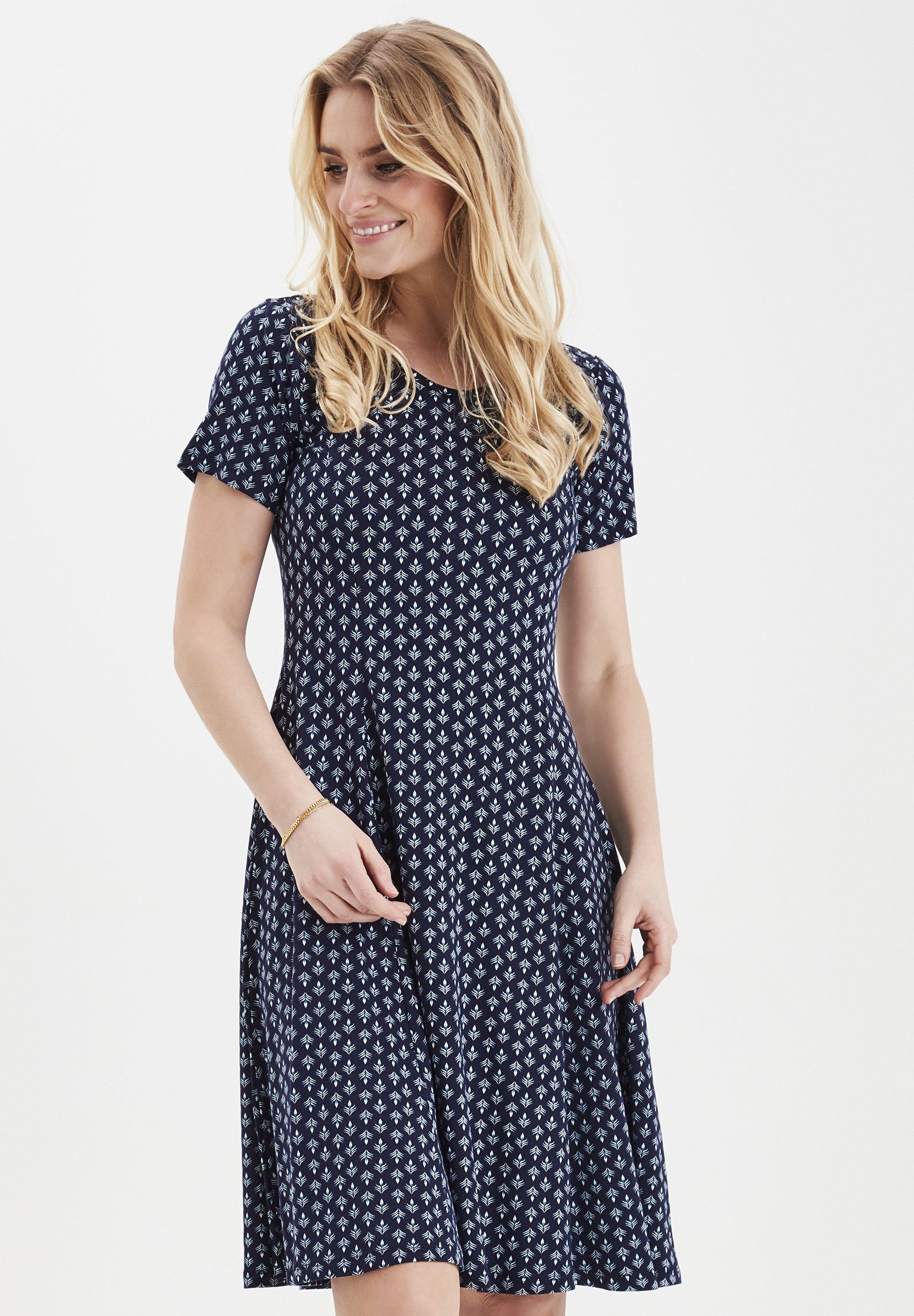 blue FREMDOTTON 2 DRESS  Fransa  Hverdagskjoler