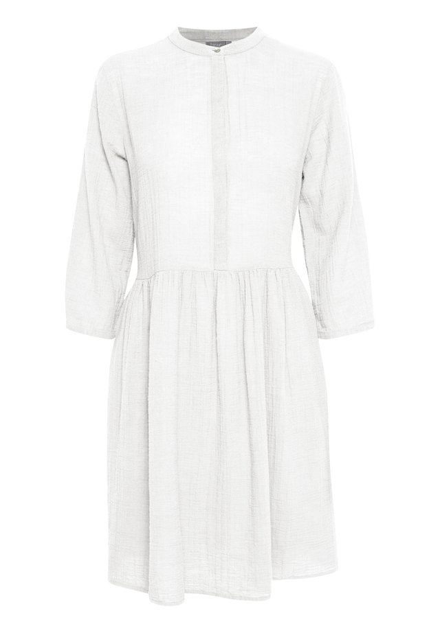 FRJASLUB 3 DRESS - Blousejurk - white