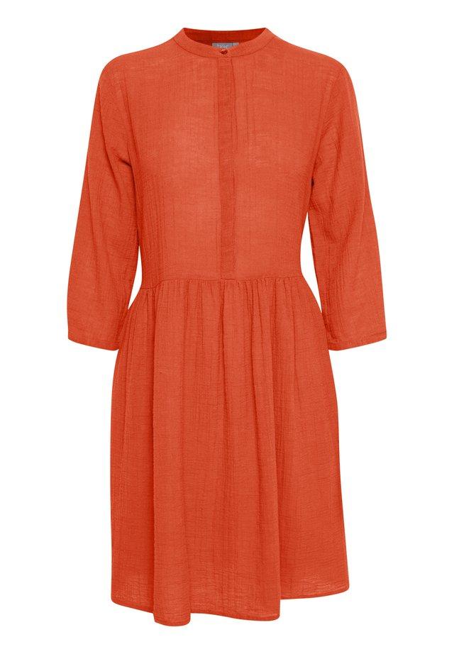 FRJASLUB - Shirt dress - cherry tomato