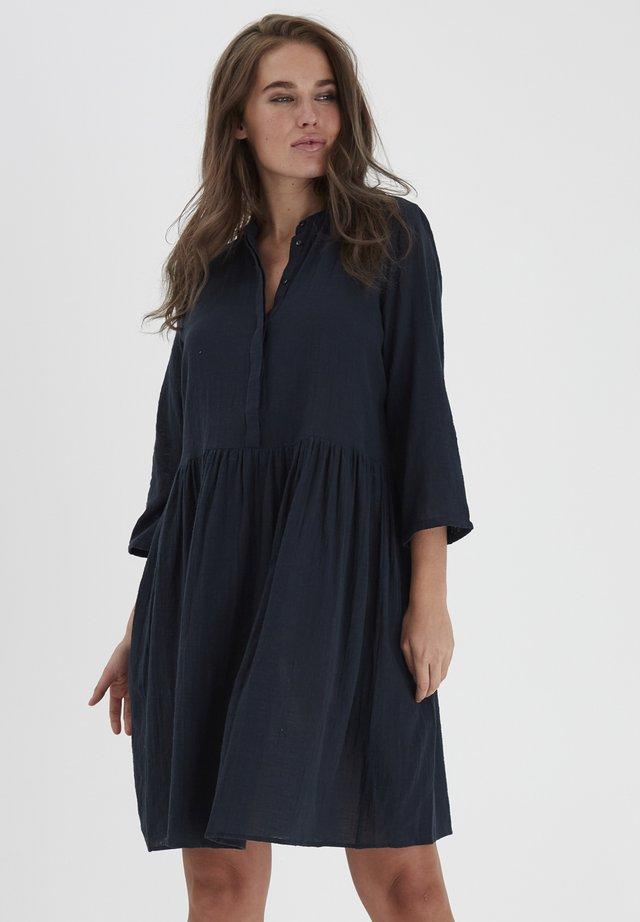 FRJASLUB - Shirt dress - dark peacoat