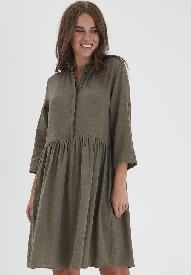 FRJASLUB - Sukienka koszulowa - hedge