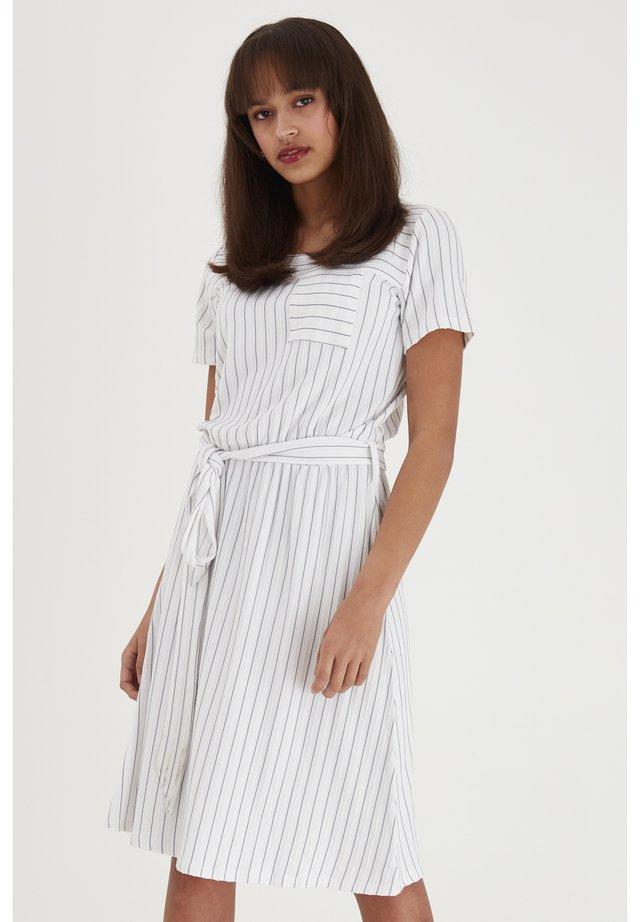 FRJEJACQ - Jersey dress - white mix