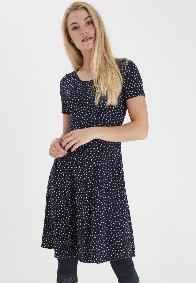 FRJEDOT  - Jerseyklänning - navy blazer mix