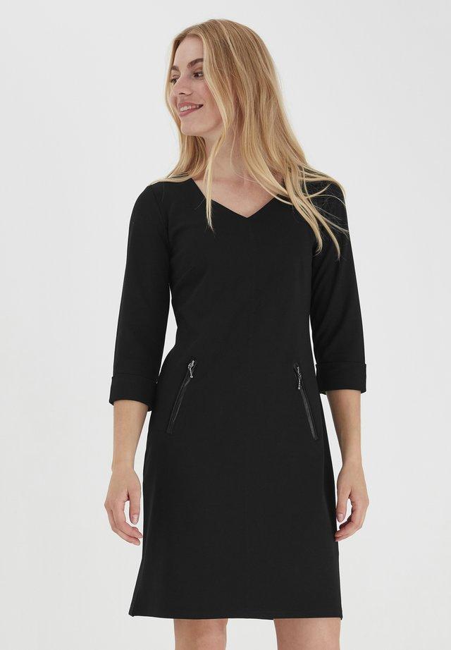 FRLEPAN - Korte jurk - black