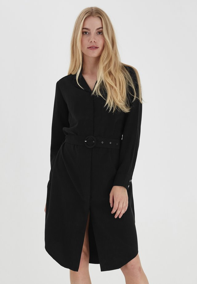 FRLAJUMP - Shirt dress - black