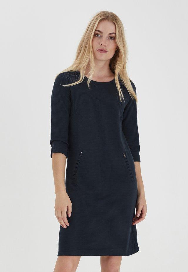 FRZARILL - Jerseyklänning - dark peacoat