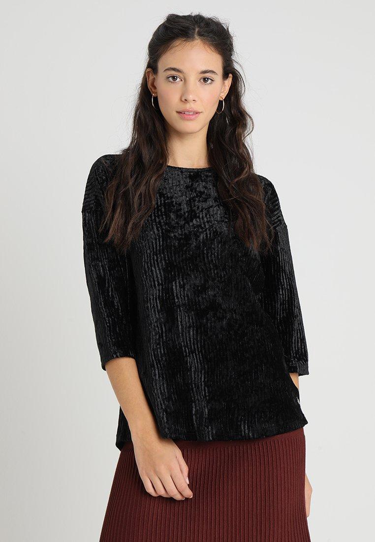 Fransa - AMBURN - Långärmad tröja - black