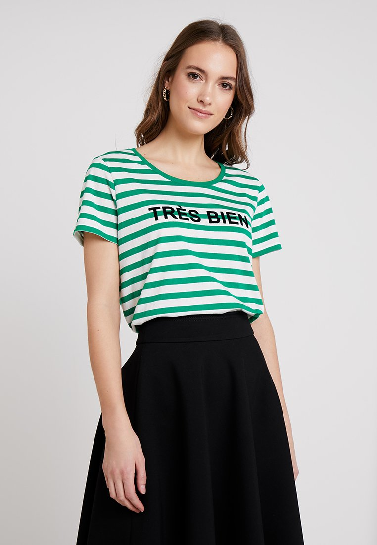 Fransa - FRCIOUI - Triko spotiskem - jolly green mix