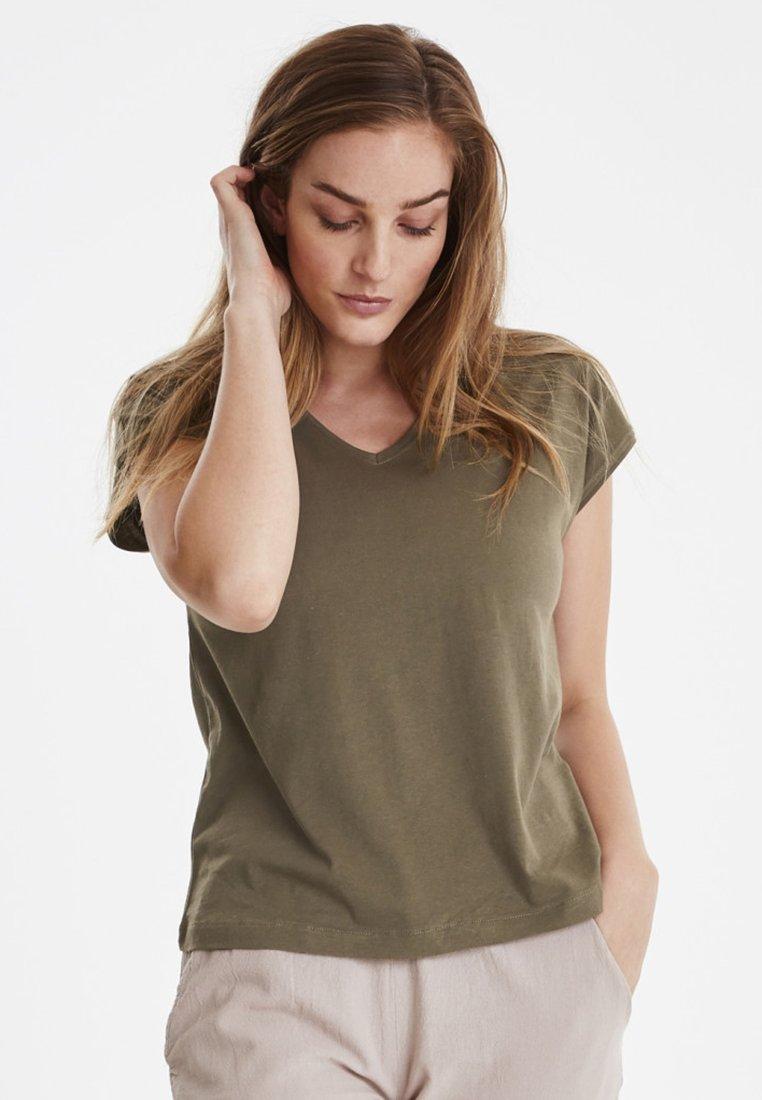 Green shirt Fransa Basique FxsummerT Light LUGSMqzpV