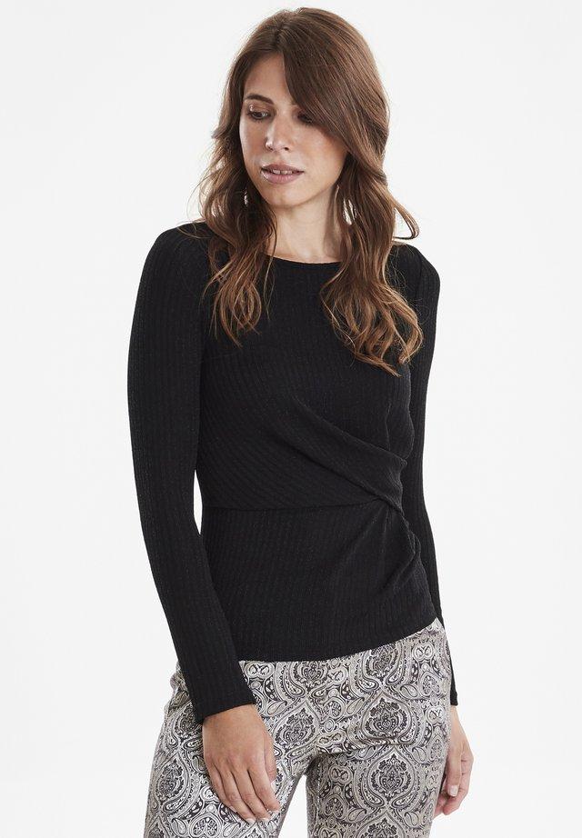 FRGISHIMMER - Long sleeved top - black