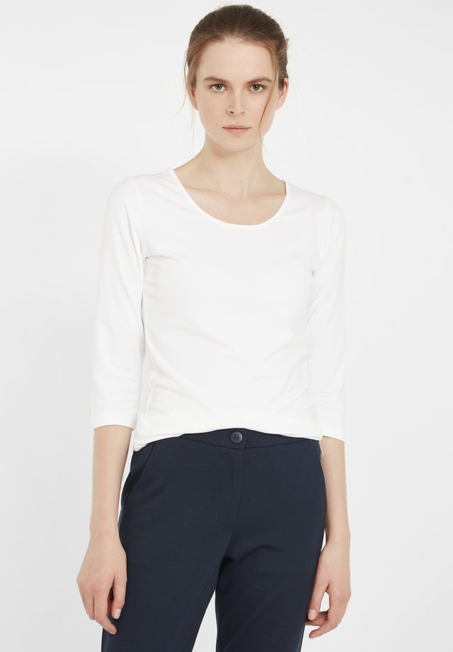 ZAGANIC  - Long sleeved top - white