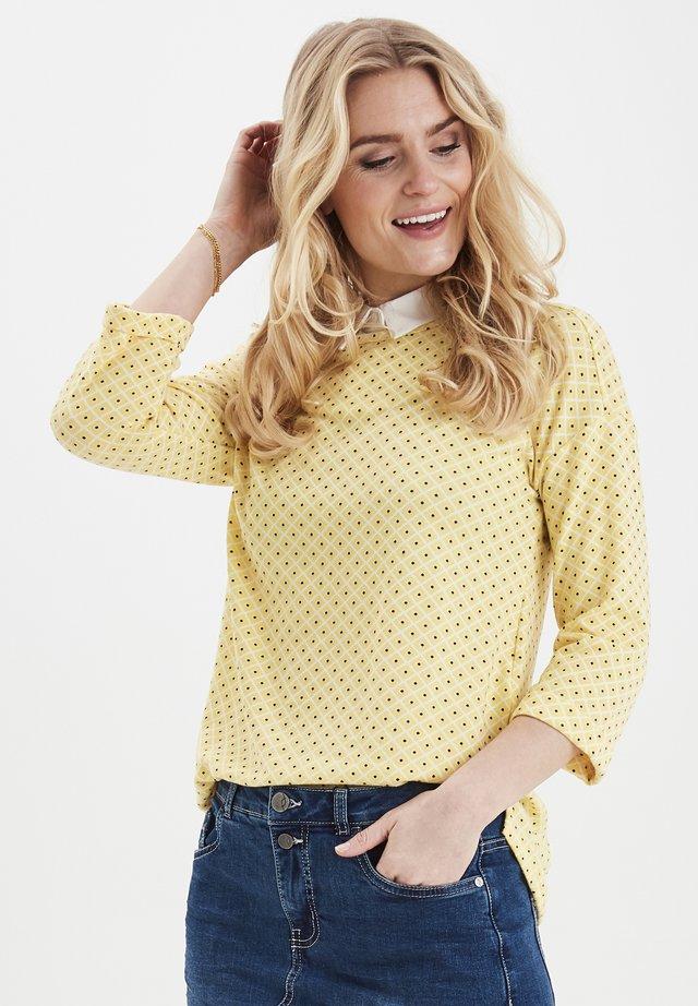 FRITFLOWER - Långärmad tröja - yellow