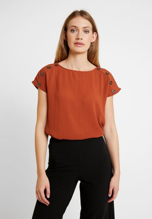 FRESOLID BLOUSE - Blus - ginger bread