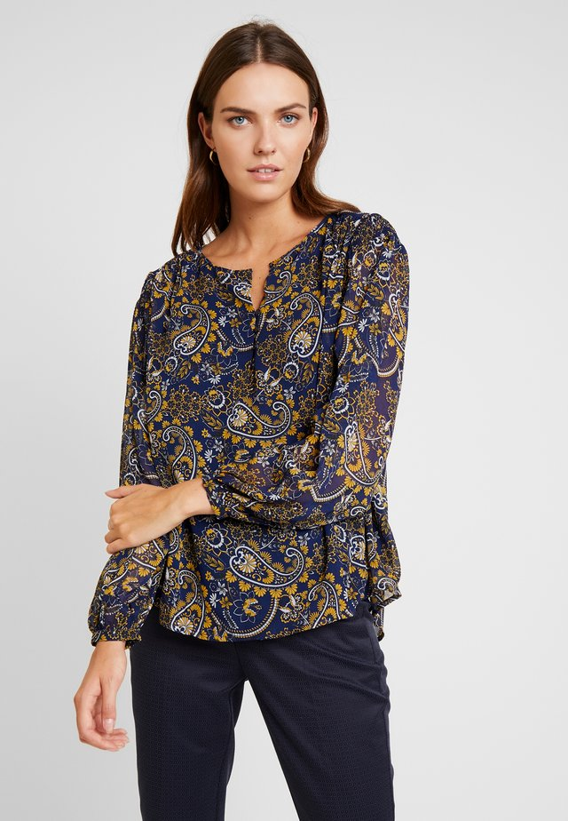 FRESCHIF BLOUSE - Bluse - autumn blaze mix