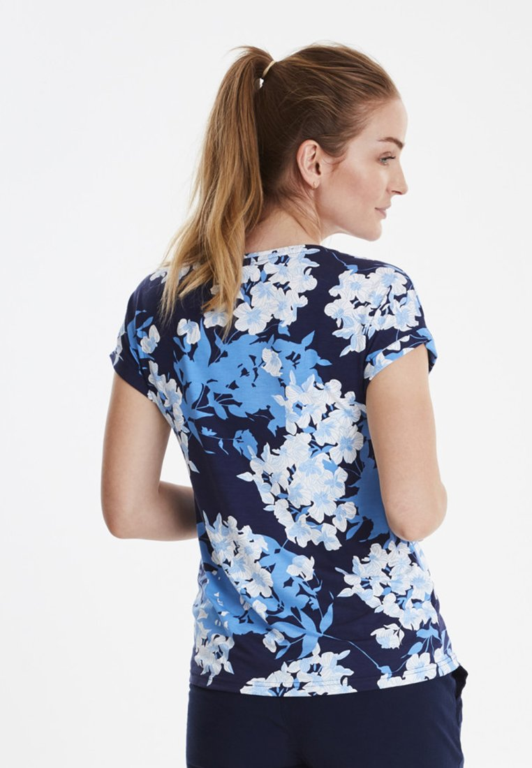 shirt FxsulikeT Fransa Dark Blue Imprimé QrthxdsC