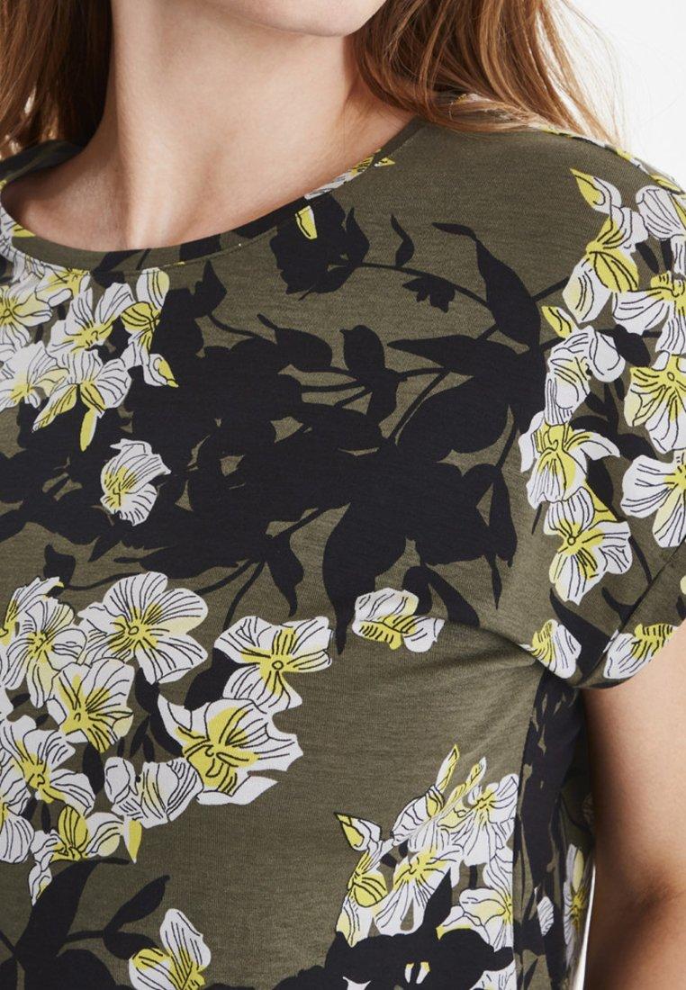 Fransa FXSULIKE - T-shirt imprimé khaki