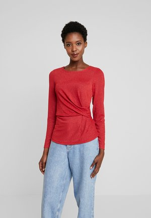 FRGISHIMMER - Long sleeved top - rio red mix