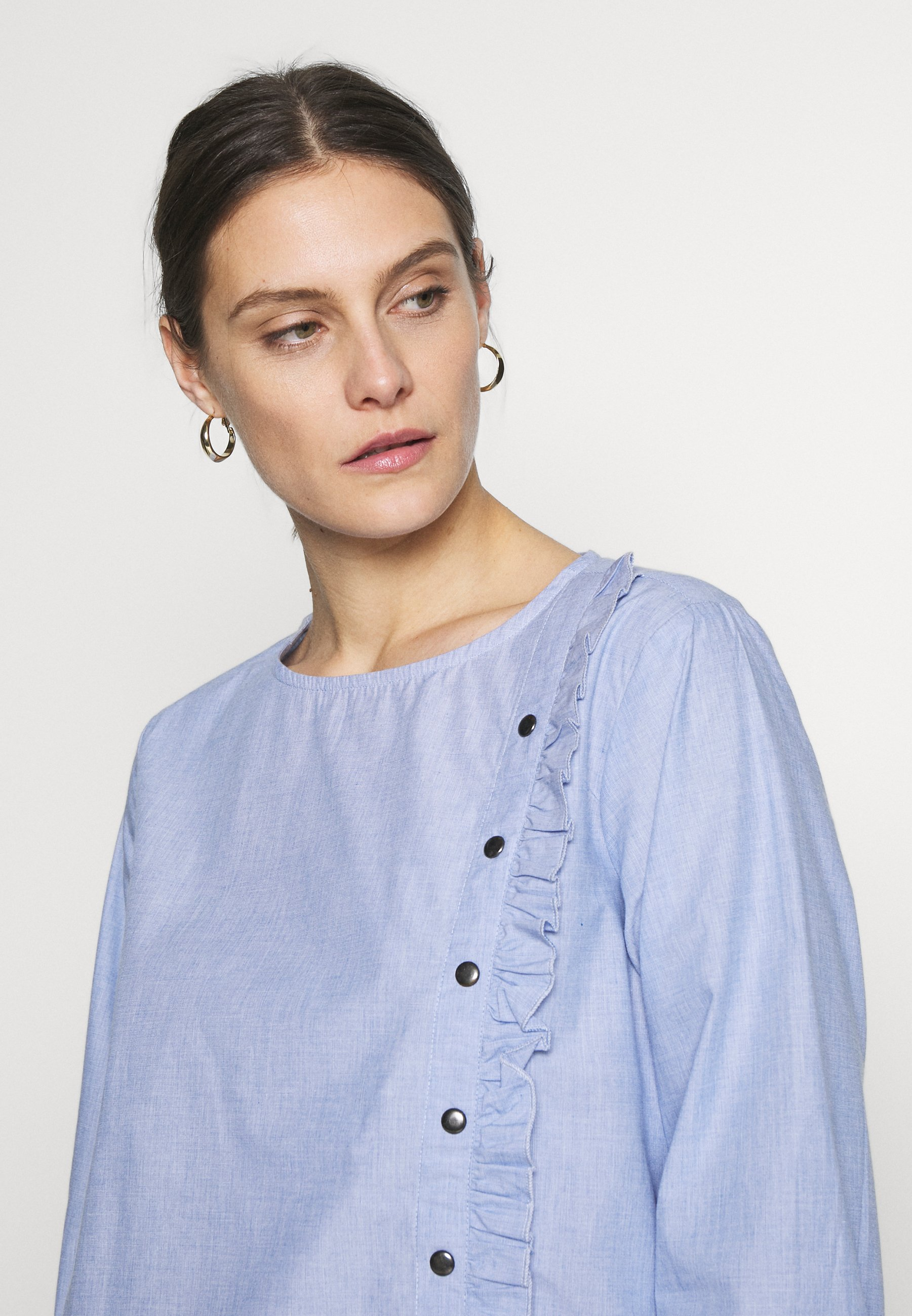 Fransa HABLUES BLOUSE - Bluzka - brunnera blue