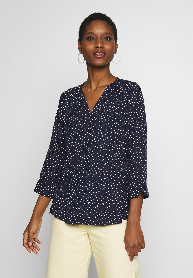 BLOUSE - Bluser - dark peacoat mix