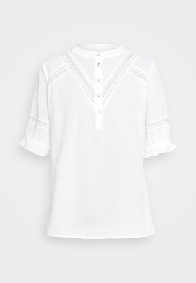 FRIPVOILE BLOUSER - Bluzka - white
