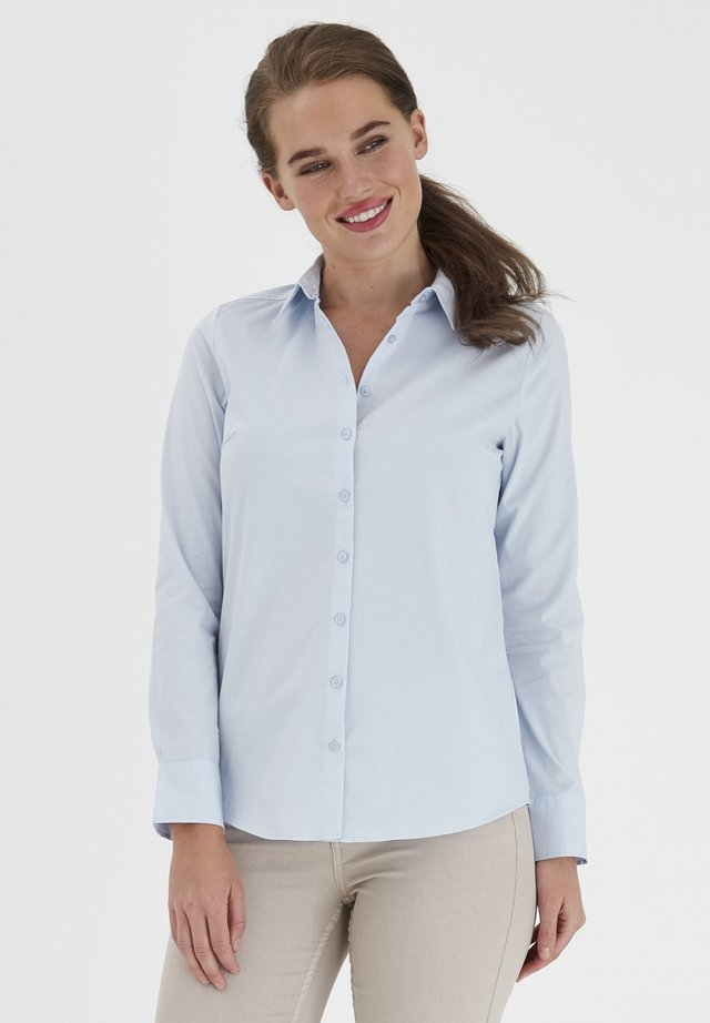 ZASHIRT - Button-down blouse - (noos) cashmere blue