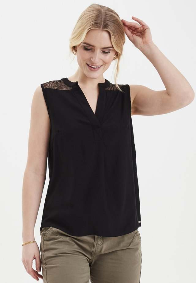 FRJALACE - Blouse - black