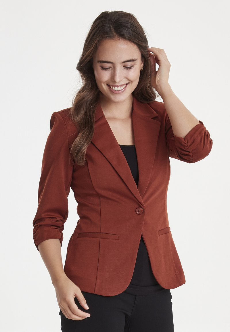 Fransa - Blazer - dark copper