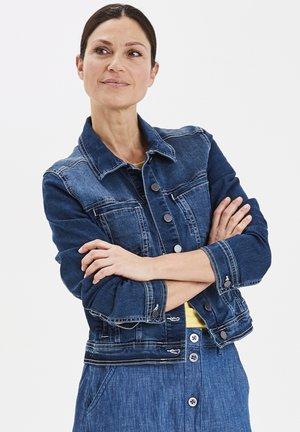 FRIVSTITCH - Kurtka jeansowa - blue denim