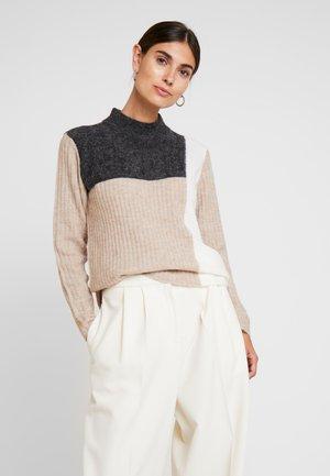 FRFIBLOCK  - Pullover - beige melange