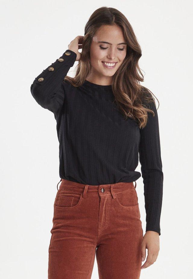 FRFITURTLE - Long sleeved top - black