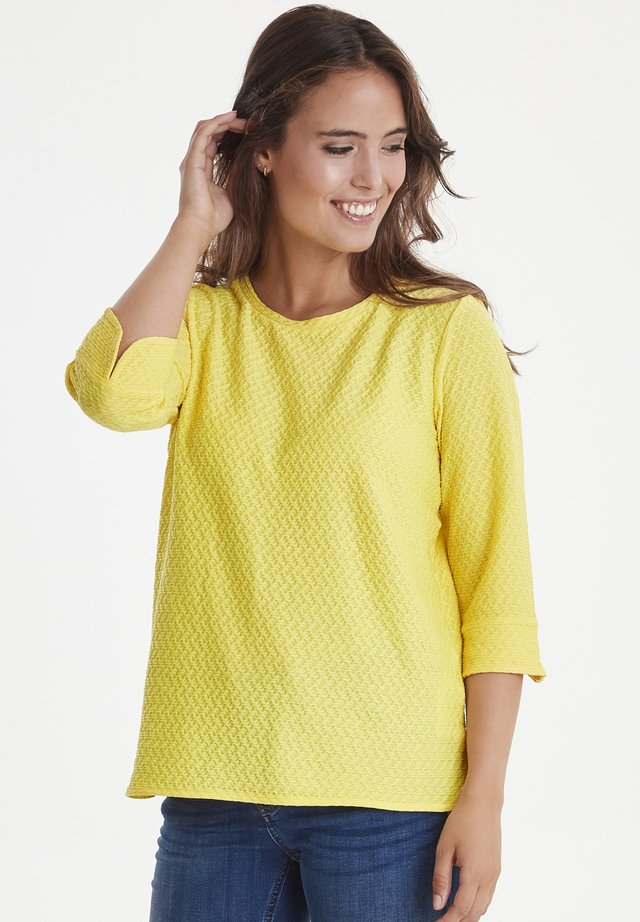 FRCIJACQ  - Långärmad tröja - lemon zest