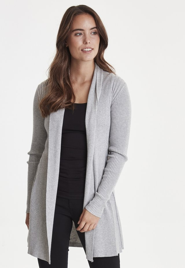 ZUBASIC - Vest - light grey melange