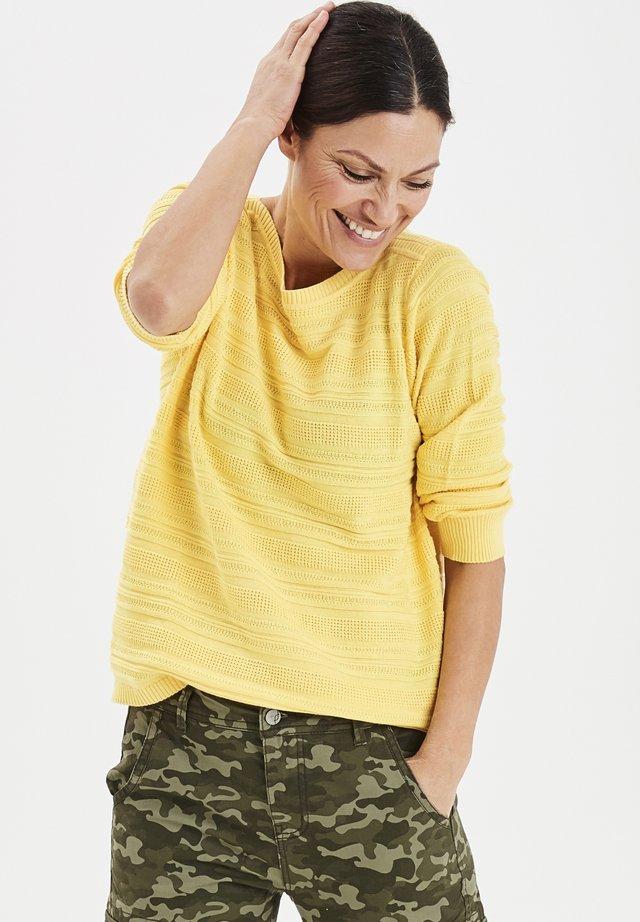 FRITLINE  - Stickad tröja - snapdragon