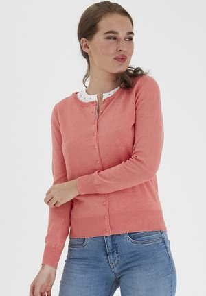 Cardigan - shell pink melange