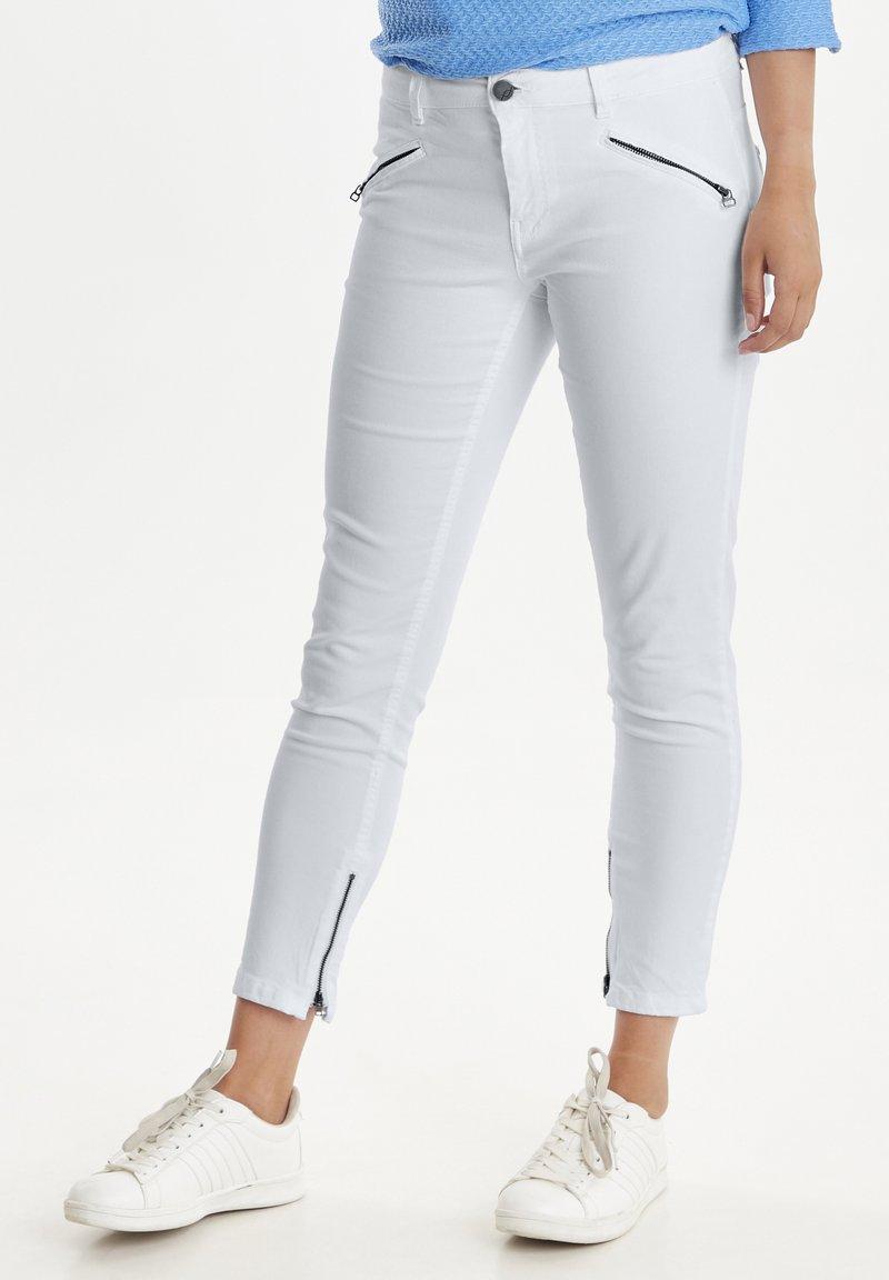 Fransa - FRCATWILL - Jeans Skinny Fit - white