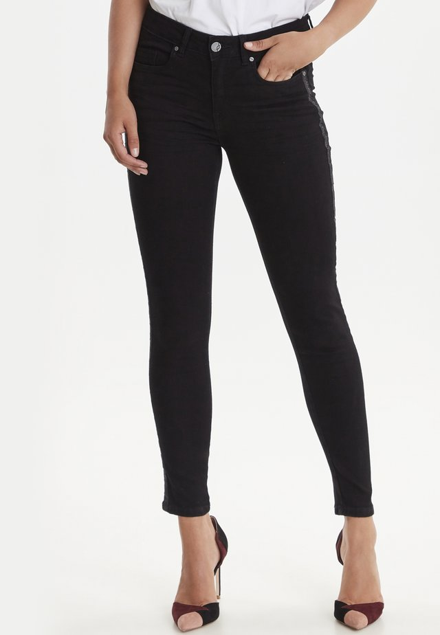 FRGOZOZA - Jeans Skinny Fit - black denim