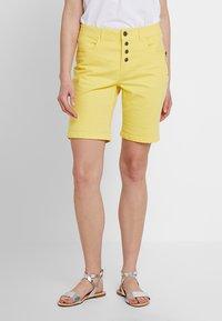 Fransa - FRCATWILL - Shorts - lemon zest - 0