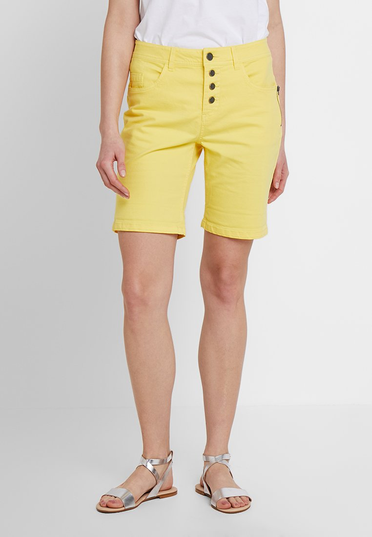 Fransa - FRCATWILL - Shorts - lemon zest