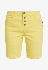 Fransa - FRCATWILL - Shorts - lemon zest - 3
