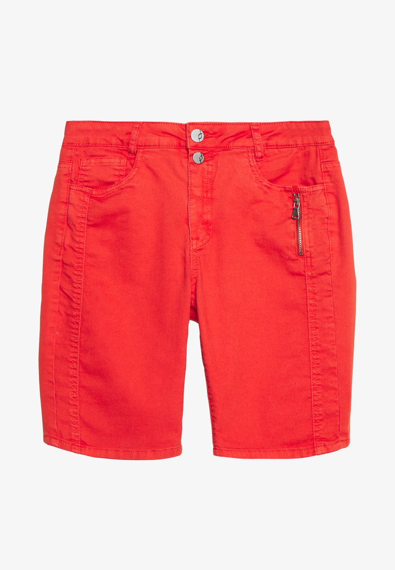 Fransa - Shorts di jeans - cherry tomato